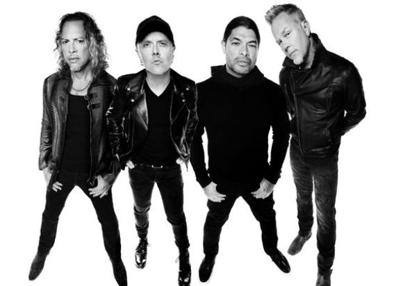 Metallica, The Look from all four Members in 2016
