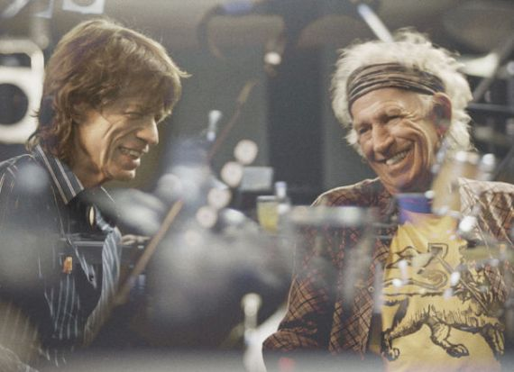 Stones, Mick Jagger and Keith Richards in 2016
