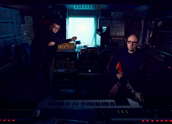 Tom Rowlands and Ed Simons from The Chemical Brothers